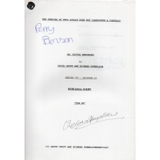 Oh Doctor Beeching - Original Script - Signed By Perry Benson & Richard Spendlove - Genuine - AFTAL - 9