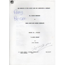 Oh Doctor Beeching - Original Script - Signed By Perry Benson & Richard Spendlove - Genuine - AFTAL - 10