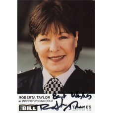 Roberta Taylor Autograph - The Bill - Signed 6x4 Cast Card 3 - Handsigned - AFTAL