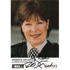 Roberta Taylor Autograph - The Bill - Signed 6x4 Cast Card 1 - Handsigned - AFTAL