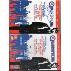 Phil Daniels Autograph - Quadrophenia DVD with Signed Insert - AFTAL