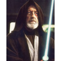 Alec Guinness - Star Wars - Signed 10x8 Photo - Hand Signed - AFTAL