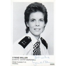 Lynne Miller Autograph - The Bill - Signed 6x4 Cast Card 2 - Handsigned - AFTAL