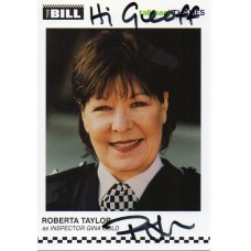 Roberta Taylor Autograph - The Bill - Signed 6x4 Cast Card 4 - Handsigned - AFTAL