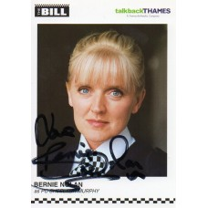 Bernie Nolan Autograph - The Bill - Signed 6x4 Cast Card 2 - Handsigned - AFTAL