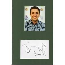 Jason Manford Autograph - Signed 12x8 Mount - Handsigned and Genuine - AFTAL