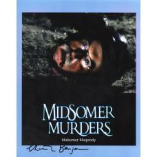 Christopher Benjamin Autograph - Signed 10x8 Photo- Handsigned - AFTAL
