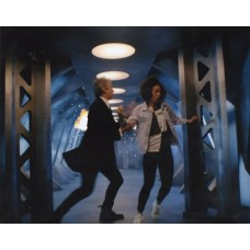 Peter Capaldi and Pearl Mackie - Doctor Who - 10x8 Unsigned Still 3
