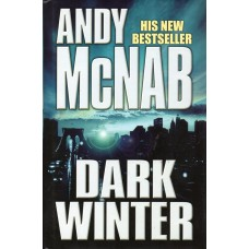 Andy McNab Autograph - Dark Winter - Hardback Book Signed - Handsigned - AFTAL