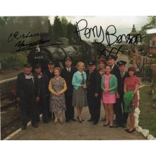 Perry Benson and Richard Spendlove - Oh Doctor Beeching - Signed 10x8 Photo