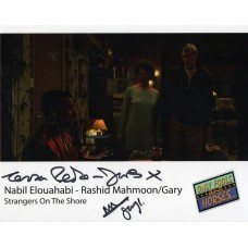Nabil Elouahabi and Tessa Peak-Jones - Only Fools and Horses - Signed 10x8 Photo - AFTAL