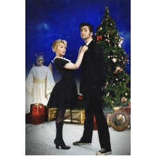 David Tennant and Kylie Minogue - Doctor Who - 12x8 Unsigned Still