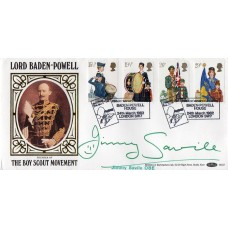 Jimmy Saville Signed Scouting First Day Cover