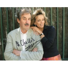 John Challis & Sue Holderness- Only Fools and Horses - Signed 10x8 Photo 3- AFTAL