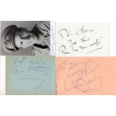 It Ain't Half Hot Mum Autographs - 4 Cast Signed - Includes Windsor Davies - Handsigned - AFTAL
