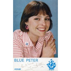 Janet Ellis Autograph - Blue Peter - Signed 6x4 Cast Card - Handsigned - AFTAL