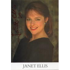 Janet Ellis Autograph - Blue Peter - Signed 6x4 Photo - Handsigned - AFTAL