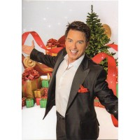 John Barrowman Autograph - Signed Large Christmas Card - Handsigned - AFTAL