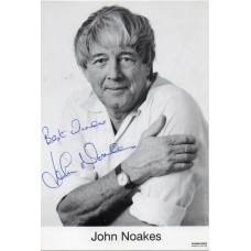 John Noakes Autograph - Blue Peter - Signed 6x4 Photo 1 - Handsigned - AFTAL