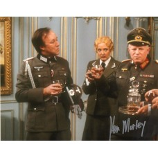 Ken Morley Autograph - Allo Allo! - Signed 10x8 Photo 4 - Handsigned - AFTAL