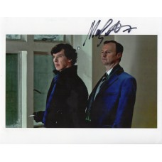Mark Gatiss Autograph - Sherlock - Signed 10x8 Photo - AFTAL