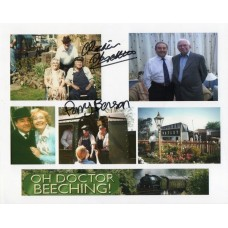 Oh Doctor Beeching - 10x8 Photo - Signed By Perry Benson and Richard Spendlove - Genuine - AFTAL