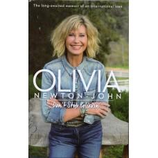 Olivia Newton-John Autograph - Don't Stop Believin' - Hardback Book Signed - Handsigned - AFTAL