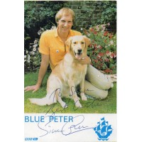 Simon Groom Autograph - Blue Peter - Signed 6x4 Cast Card - Handsigned - AFTAL