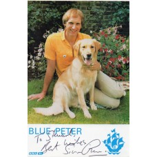Simon Groom Autograph - Blue Peter - Signed 6x4 Cast Card 2 - Handsigned - AFTAL