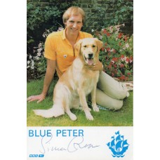 Simon Groom Autograph - Blue Peter - Signed 6x4 Cast Card 3 - Handsigned - AFTAL