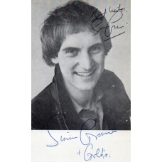 Simon Groom Autograph - Blue Peter - Signed 6x4 Cast Card 5 - Handsigned - AFTAL