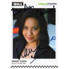 Wendy Kweh Autograph - The Bill - Signed 6x4 Cast Card - Handsigned - AFTAL